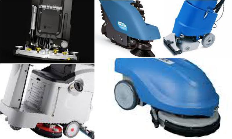 Fimap Elektrikli Zemin Temizleme Makinaları