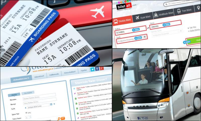 Ellerinizin Ucundaki Cazip Hizmet; Online Otobüs Bileti