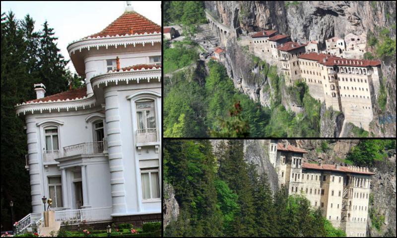 Trabzon Başlı Başına Tabiat Harikası Bir Şehirdir