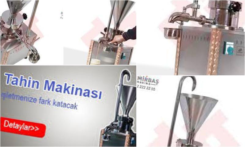 Helva Üretimi İçin Profesyonel Makineler