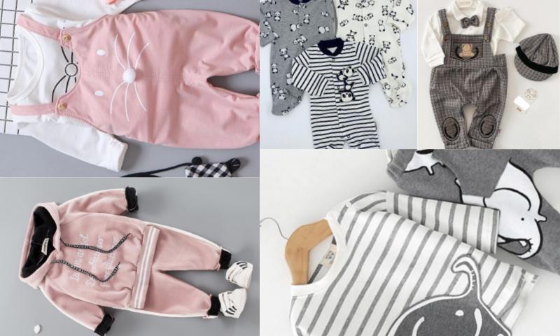 Bebek Giyim Ürünlerinde Zengin Çeşitlilik