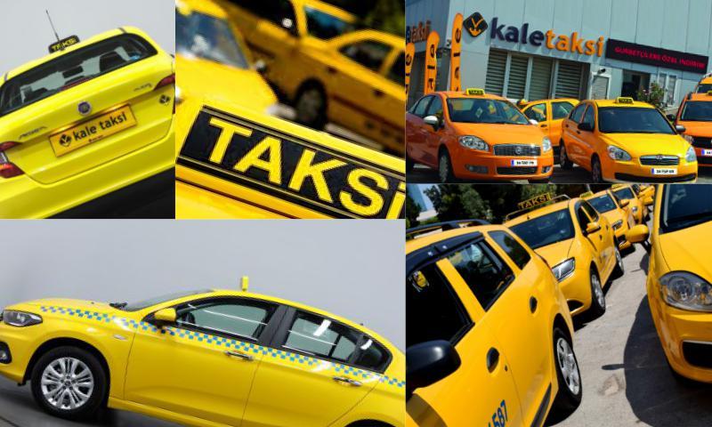 Şehir Şehir Taksi Plakaları