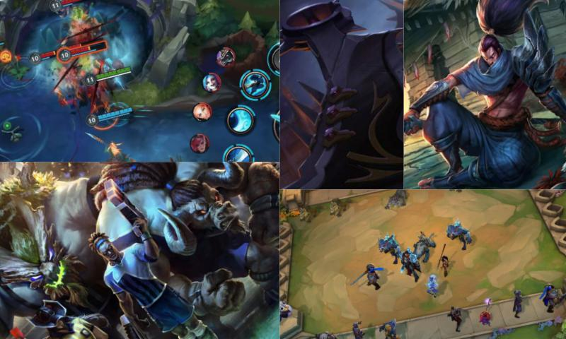 Mavi Özlü League of Legends Hesap Satışı