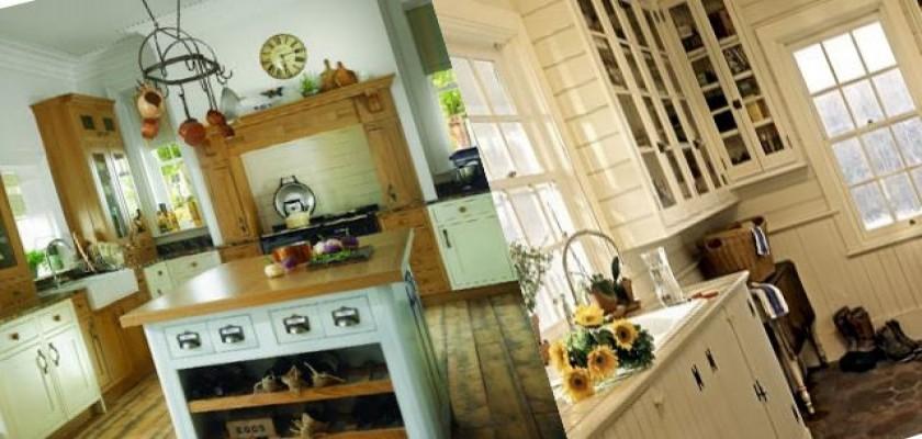 Mutfaklarda Country Stili Gittikçe Yaygınlaşıyor