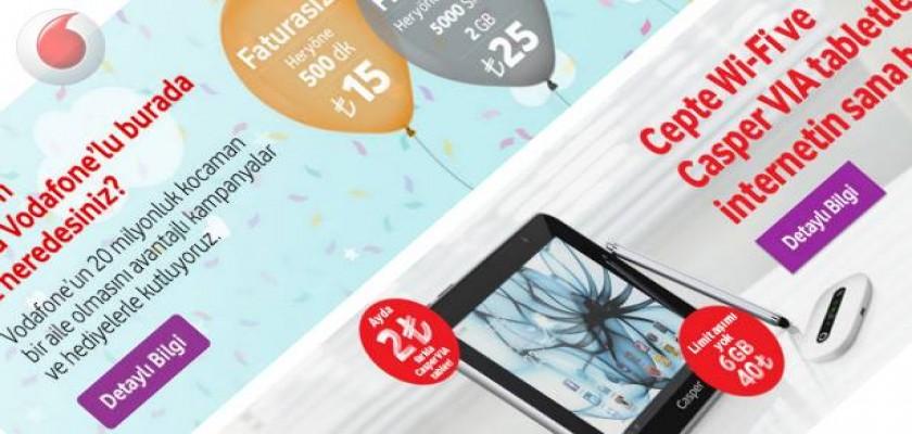 Her Şey Değişti Değişti Vodafone'la